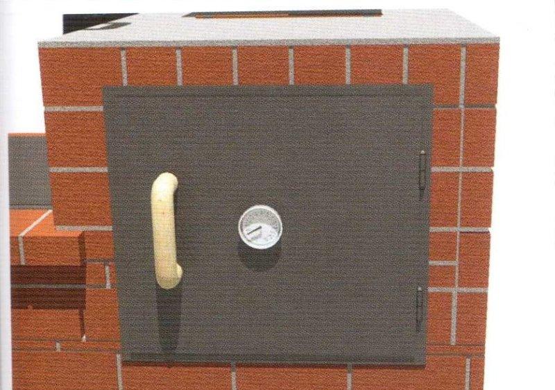 дверь в коптильню