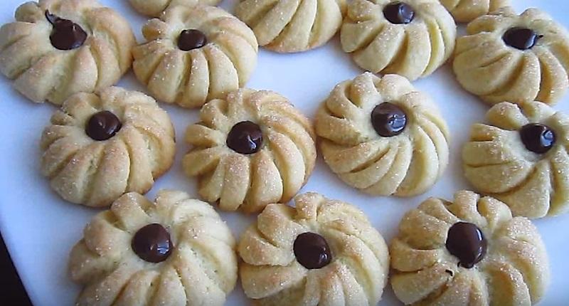 домашнее печенье готово