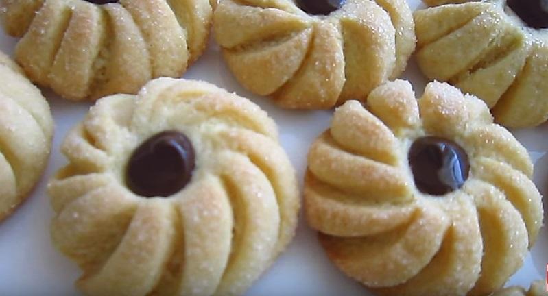 печенье домашнее с начинкой