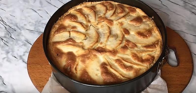 пирог испекся