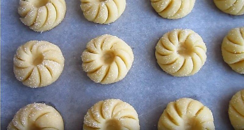 заготовки для печенья готовы
