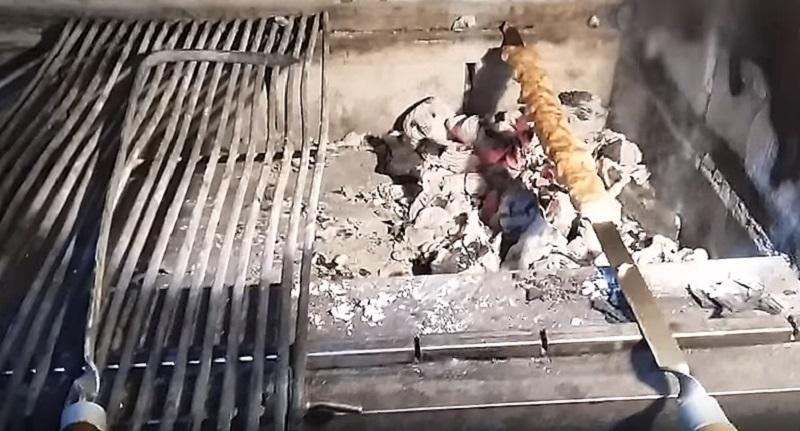 шашлык на мангале