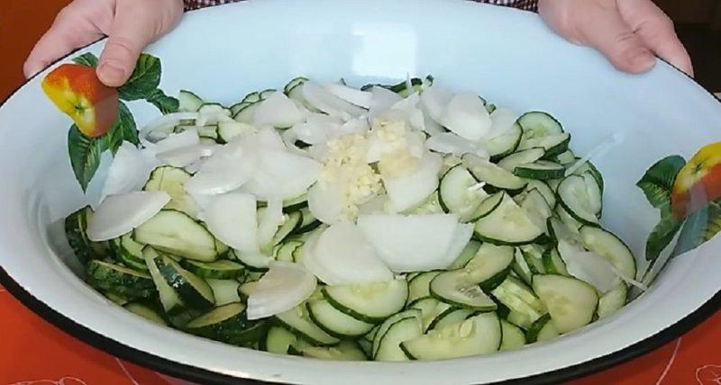 овощи в тазике