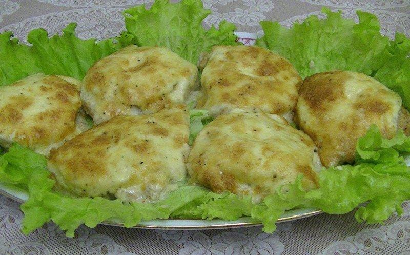 блюдо с куриным филе