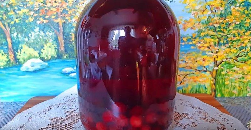 компот вишневый готов