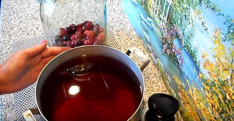вишневый сироп