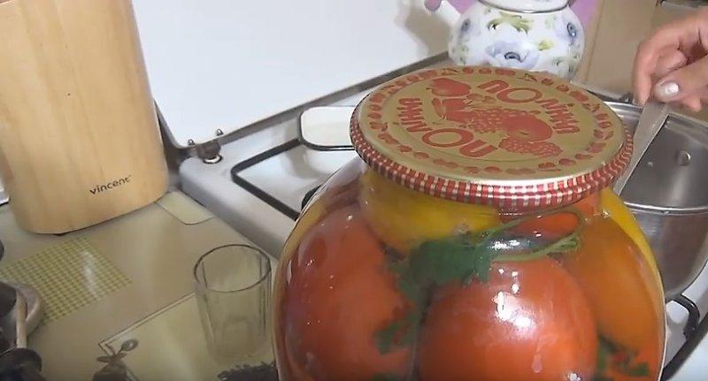 заготовка с овощами готова