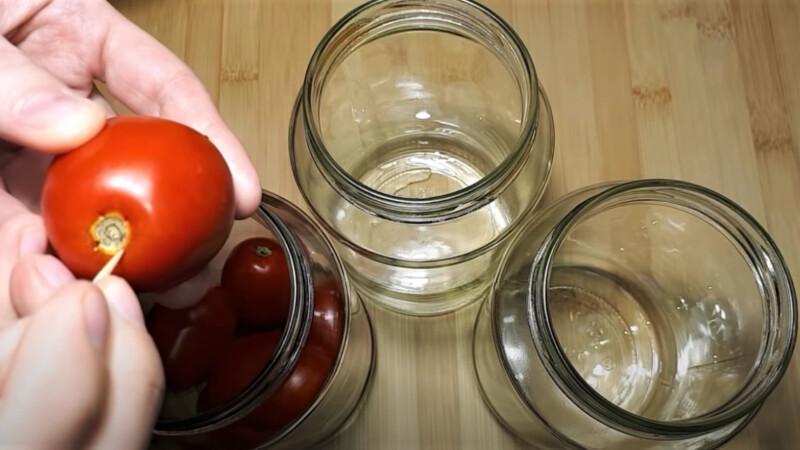 прокол в томатах