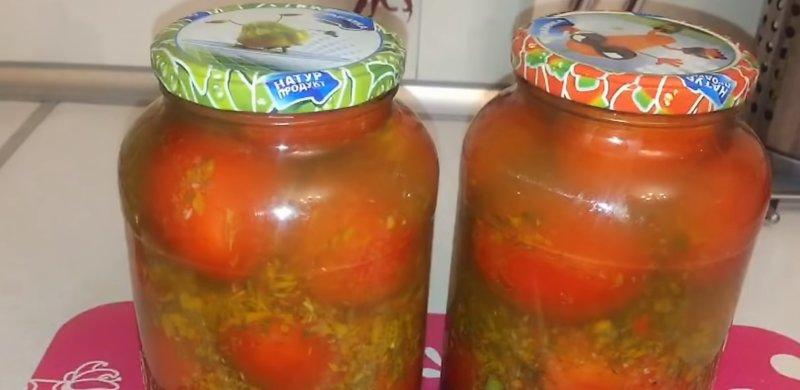 помидоры (томаты) в банках