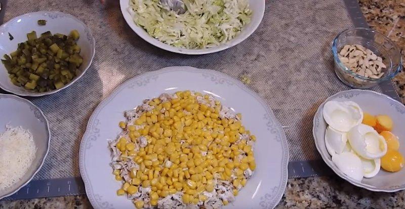 кукурузный слой