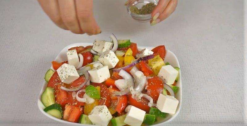 орегано насыпать в салат