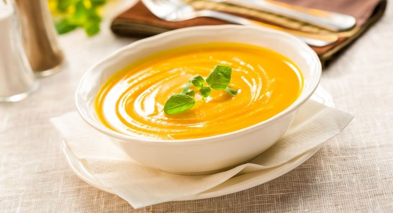суп пюре из тыквы быстрого рецепта