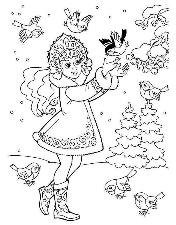 елочка и снегурочка