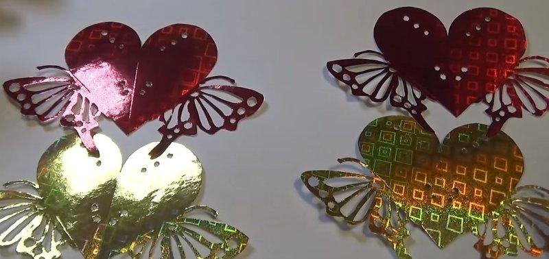вырезанные бабочки