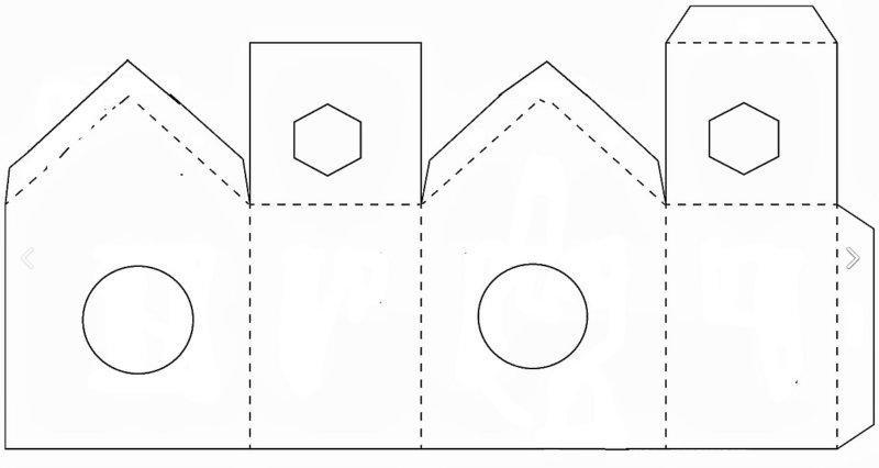 чертеж домика