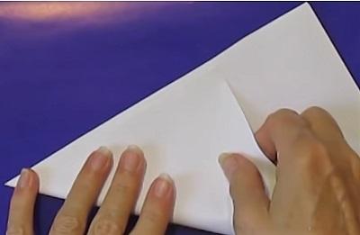 согнуть лист бкмаги
