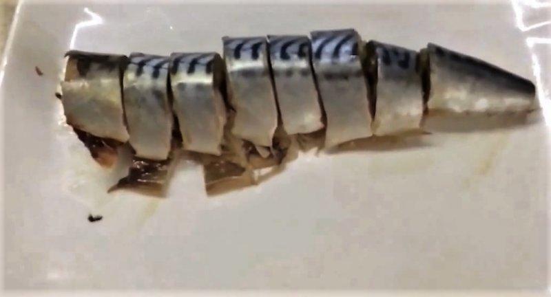 кусочки скумбрии