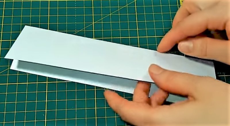 сгибание бумаги