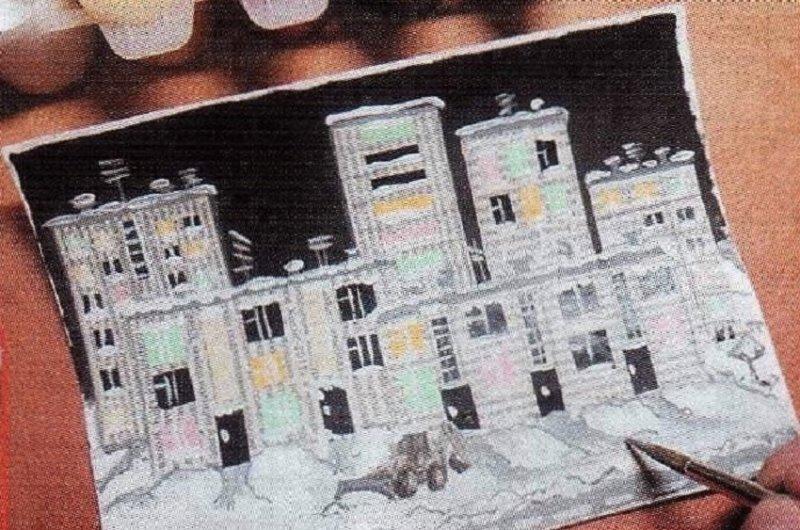 Объемная аппликация — поделки (картины) в технике коллаж