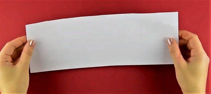 согнутый лист