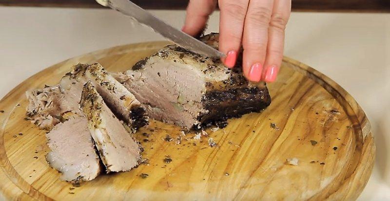 нарезать порции