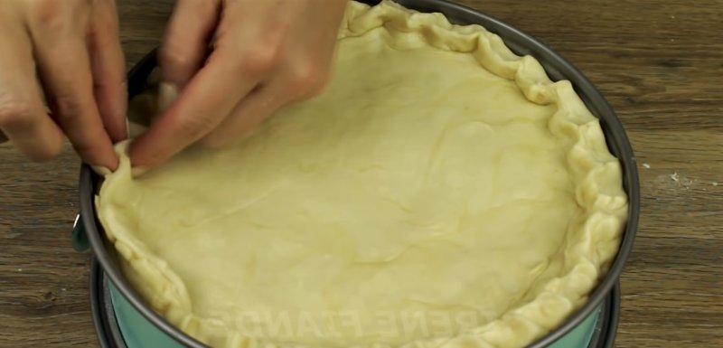 верх пирога