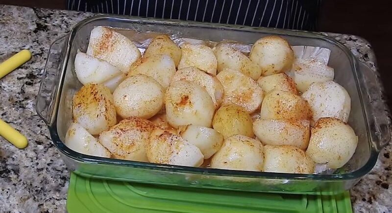 специи на картошке