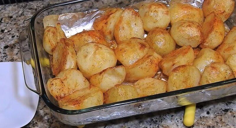 зажаристая картошка
