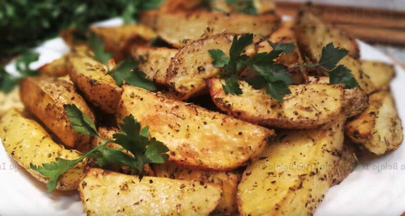зажаристый картофель