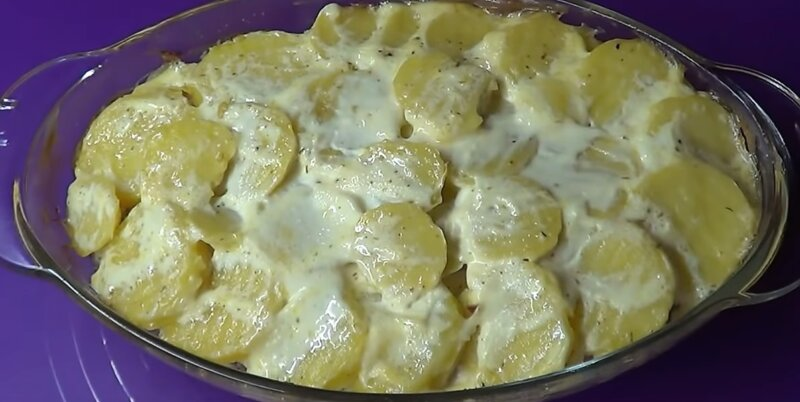 картошка запеклась