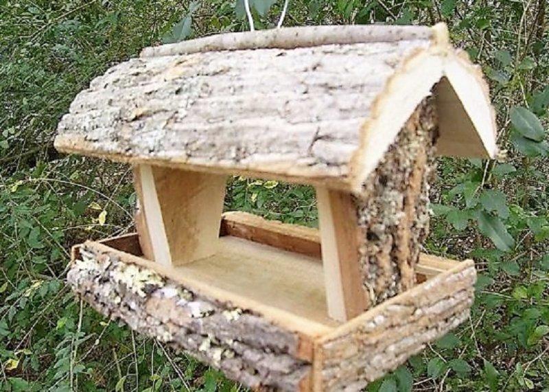 красивый домик из дерева