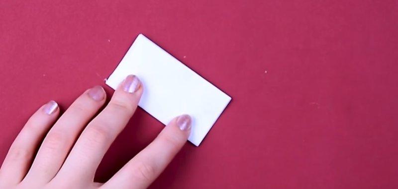 заготовка из бумаги