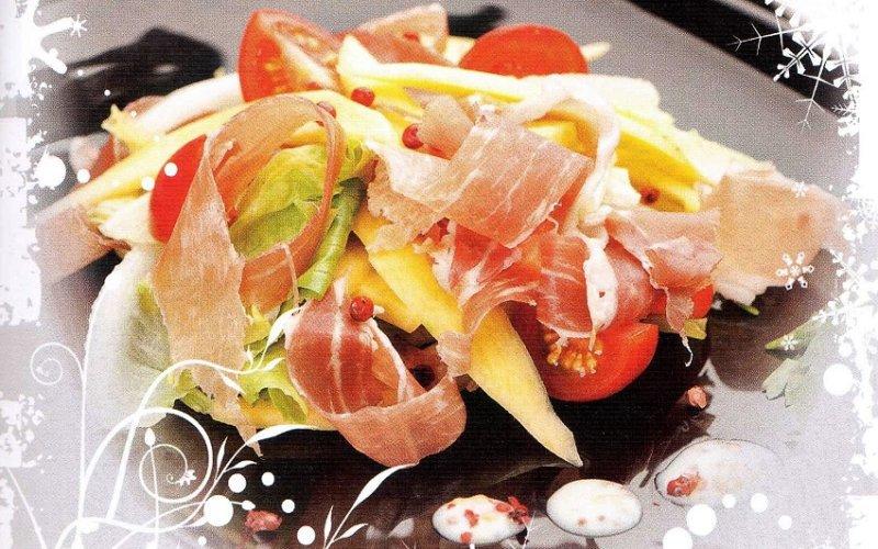 необычный и редкий салат