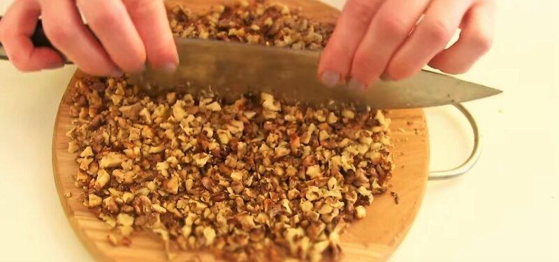 рубленные орехи