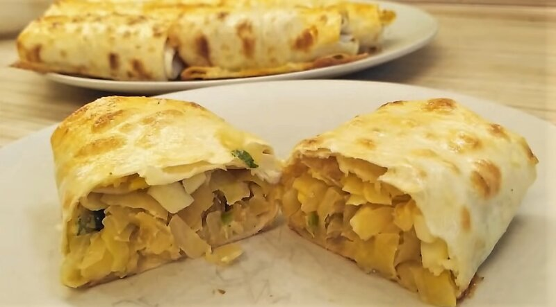 Пирожки с капустой в духовке — 5 лучших пошаговых рецептов