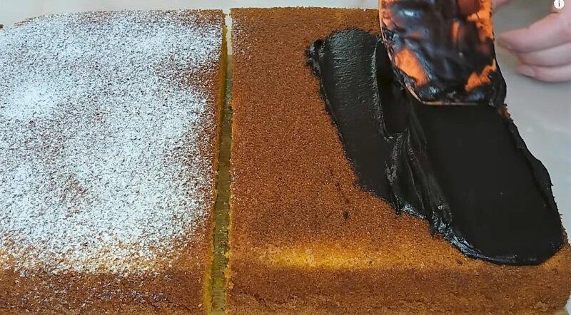 две части пирога