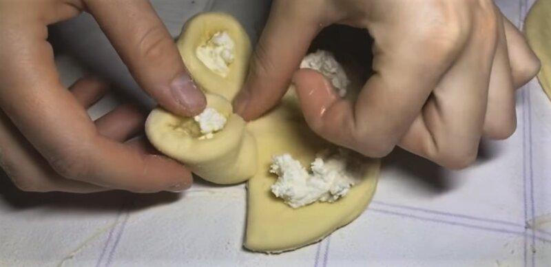 форма лепестка