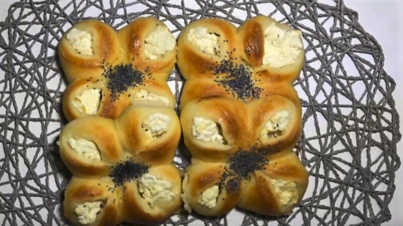 булочки с начинкой