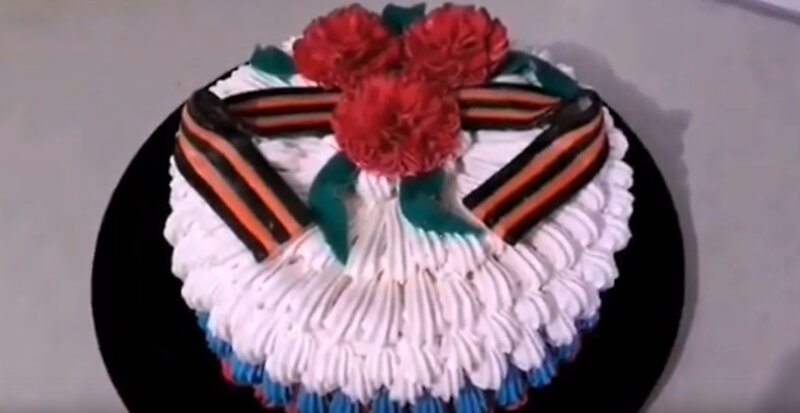 Торт на 23 февраля для мужчин своими руками