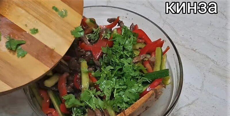 Мясной салат — 6 лучших рецептов салата с мясом для мужчин