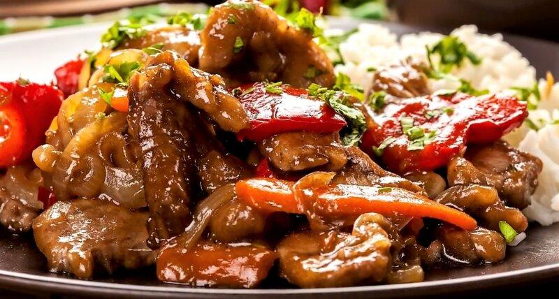 Свинина по-китайски — 5 лучших рецептов с пошаговым описанием
