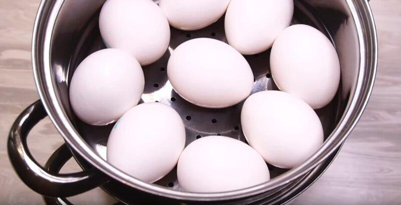 Как сварить яйца вкрутую, чтобы они легко чистились