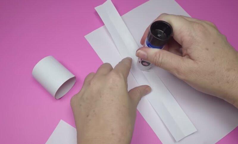полоски бумаги