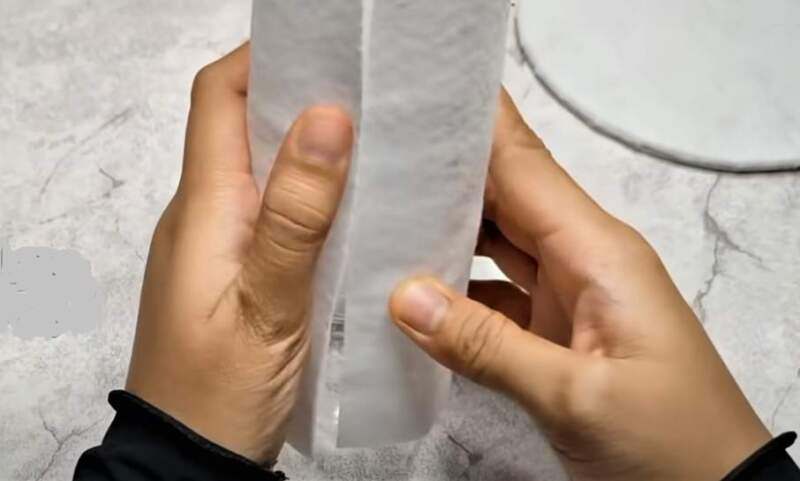 фланель на бутылке