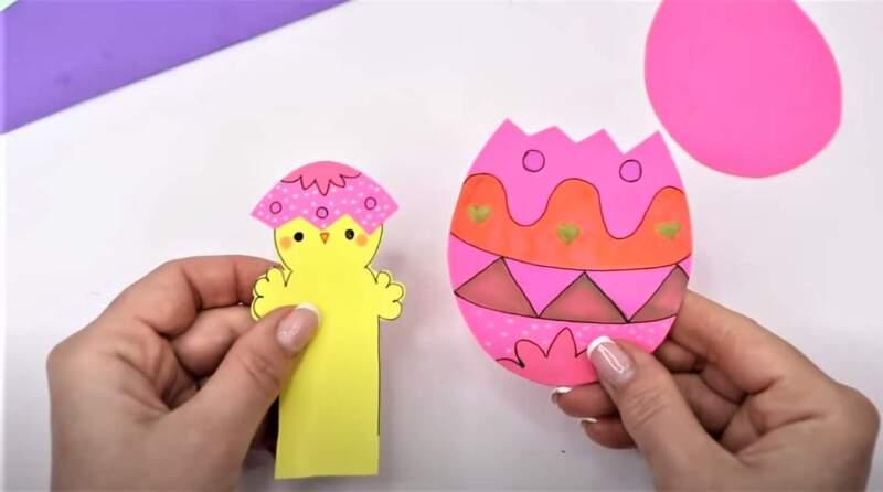 раскрашенное яйцо