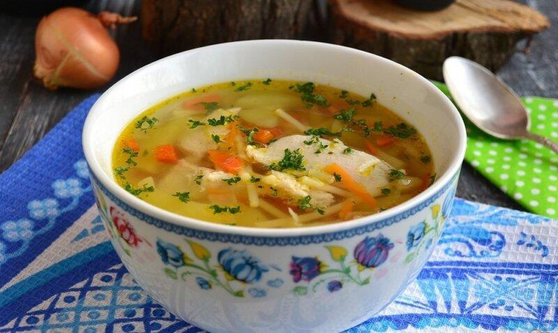 рецепт куриного супа