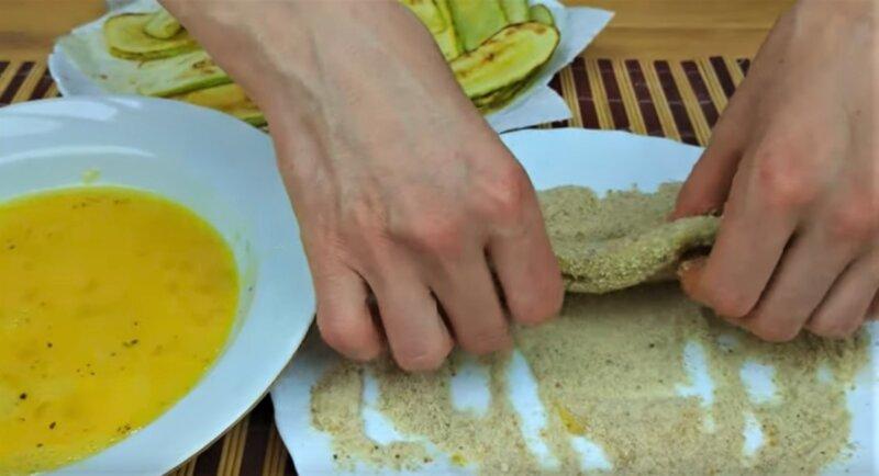 шницель в сухарях