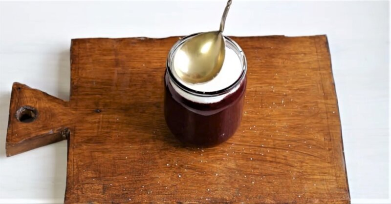 слой сахара на ягодах