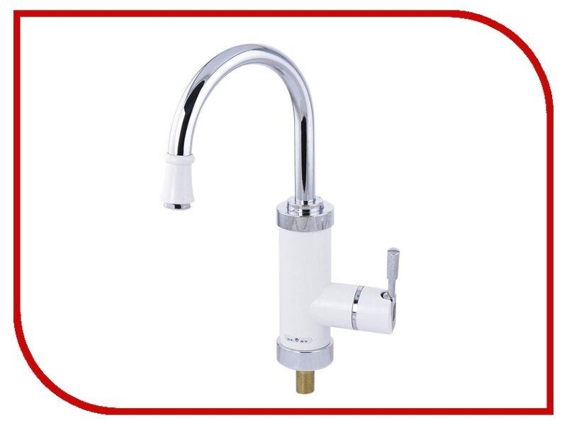 кран с нагревом воды в ванную комнату