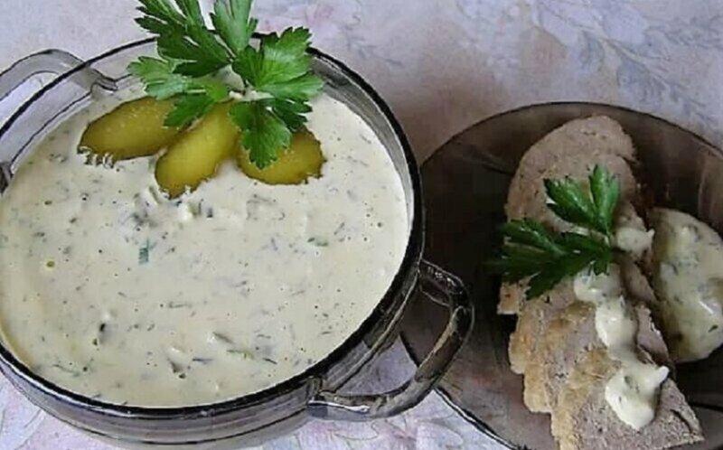 домашний соус по татарски